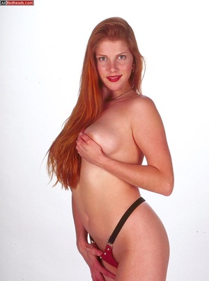 Nude redhead. Horny redhead with flaming - XXX Dessert - Picture 5