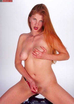 Nude redhead. Horny redhead with flaming - XXX Dessert - Picture 6