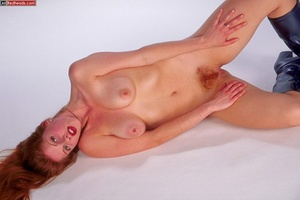 Nude redhead. Horny redhead with flaming - XXX Dessert - Picture 7