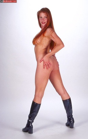 Nude redhead. Horny redhead with flaming - XXX Dessert - Picture 10