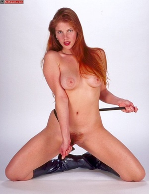 Nude redhead. Horny redhead with flaming - XXX Dessert - Picture 13