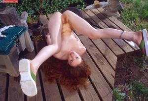 Sexy redhead. Hottie Redhead Coed Fishes - XXX Dessert - Picture 17