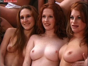 Hot redhead. 8 Natural Redhead fondling  - XXX Dessert - Picture 10