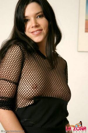 Latinas galleries. Cassie wears black me - XXX Dessert - Picture 4