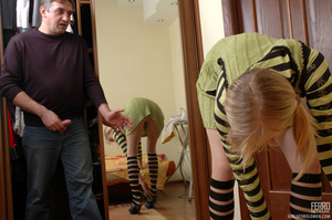 Old young sex. Young ponytailed blondie  - XXX Dessert - Picture 10