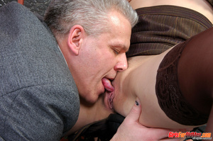 Young old xxx. Pretty office girl gettin - XXX Dessert - Picture 14