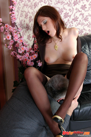 Young old xxx. Pretty office girl gettin - XXX Dessert - Picture 16