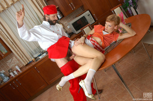 Old young love. Stunning girlie cannot c - XXX Dessert - Picture 16