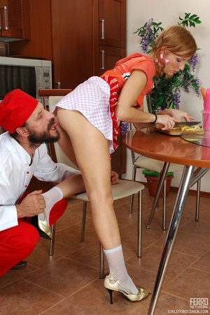 Old young love. Stunning girlie cannot c - XXX Dessert - Picture 19
