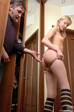 Young old xxx. Young ponytailed blondie  - XXX Dessert - Picture 6