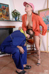 Young old sex. Upskirt tomboy spreads legs for the old service man getting