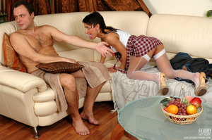 Young old sex. Mischievous gal sneaking  - XXX Dessert - Picture 8