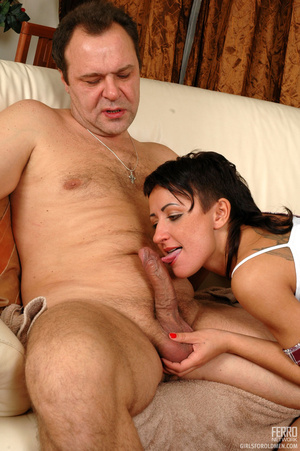 Young old sex. Mischievous gal sneaking  - XXX Dessert - Picture 10
