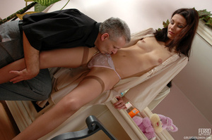 Xxx old young. Leggy girl luring her gre - XXX Dessert - Picture 6