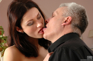 Xxx old young. Leggy girl luring her gre - XXX Dessert - Picture 12