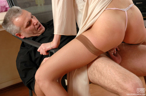 Xxx old young. Leggy girl luring her gre - XXX Dessert - Picture 16