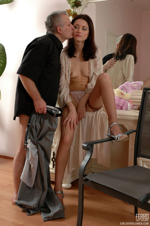 Xxx old young. Leggy girl luring her gre - XXX Dessert - Picture 20