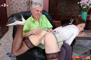 Old young. Curious girl caught sneaking  - XXX Dessert - Picture 6