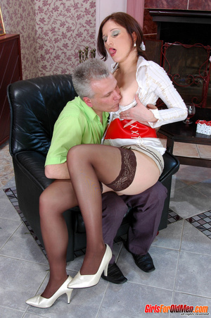Old young. Curious girl caught sneaking  - XXX Dessert - Picture 11
