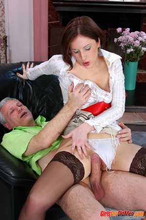 Old young. Curious girl caught sneaking  - XXX Dessert - Picture 19