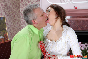 Old young. Curious girl caught sneaking  - XXX Dessert - Picture 20