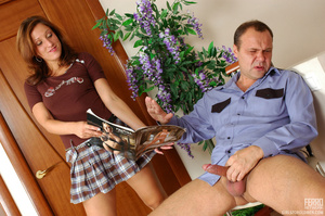 Old young love. Flirtatious gal in flyin - XXX Dessert - Picture 20