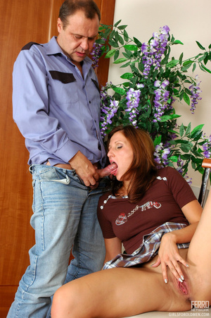 Old men fucking young girls. Flirtatious - XXX Dessert - Picture 13