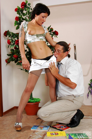 Older man young women sex. Sexy coed pas - XXX Dessert - Picture 9