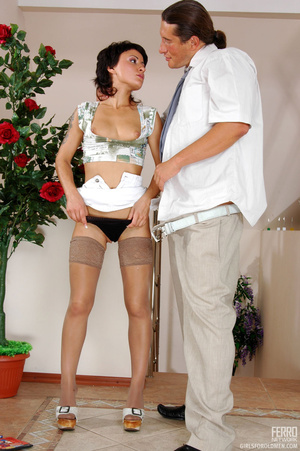 Older man young women sex. Sexy coed pas - XXX Dessert - Picture 19