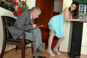 Young old porn. Lean girl having her old - XXX Dessert - Picture 2
