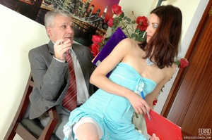 Young old porn. Lean girl having her old - XXX Dessert - Picture 4