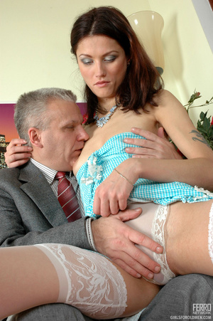 Young old porn. Lean girl having her old - XXX Dessert - Picture 8