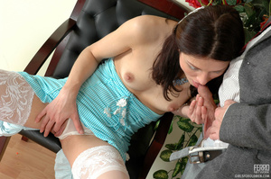 Young old porn. Lean girl having her old - XXX Dessert - Picture 14