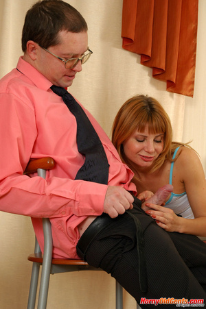 Young old sex. Naughty lass in too short - XXX Dessert - Picture 9