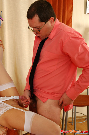 Young old sex. Naughty lass in too short - XXX Dessert - Picture 19