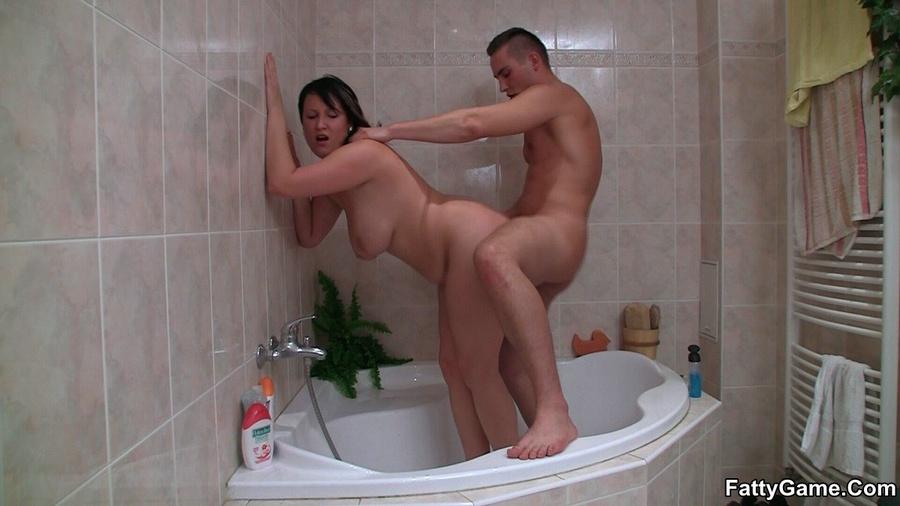 Bbw shower porn