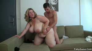 Chubby porn. She likes the way this slen - XXX Dessert - Picture 9