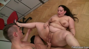 Fat sex. She's a hot piece of beautiful  - XXX Dessert - Picture 16