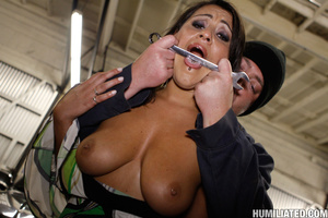 Female ejaculation. Gushing whore fucked - XXX Dessert - Picture 2