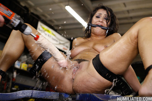 Female ejaculation. Gushing whore fucked - XXX Dessert - Picture 10