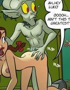 Adult comics. Dang! Ah ain't never had mah dick sucked like this b'fore!