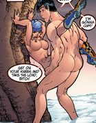 Adult comic cartoons. That's right raylene. You're a tree humpin' bitch.