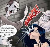 Original adult comics. You're gona suck my cock you Smartass bitch!