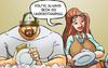 Comics for adults. Maid wants to fuck Big, manly, muscular guy.