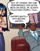 Cartoonsex. Big black dick wants to fuck her ass a little snug.