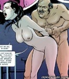 Slave cartoons. Perverted judge captured a girl, and keeps her as fuck