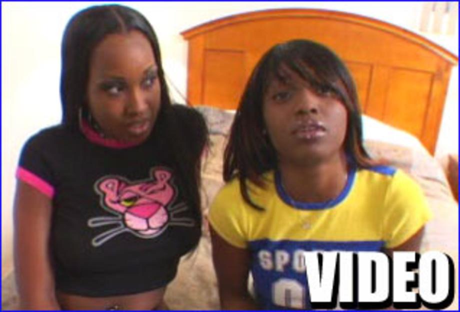 Nude black teenies