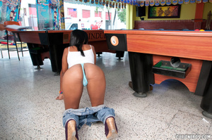 Xxx latina. Ebony latin babe in the hot  - XXX Dessert - Picture 5