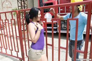 Xxx latina. Round booty chic gets her pu - XXX Dessert - Picture 3