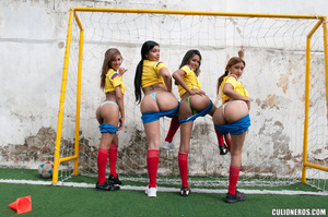 Latina galleries. Two football girl have - XXX Dessert - Picture 5